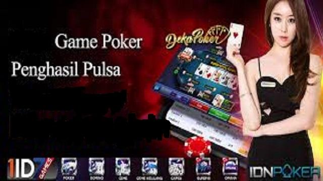 6 Game Poker Penghasil Pulsa 2021 Cara1001