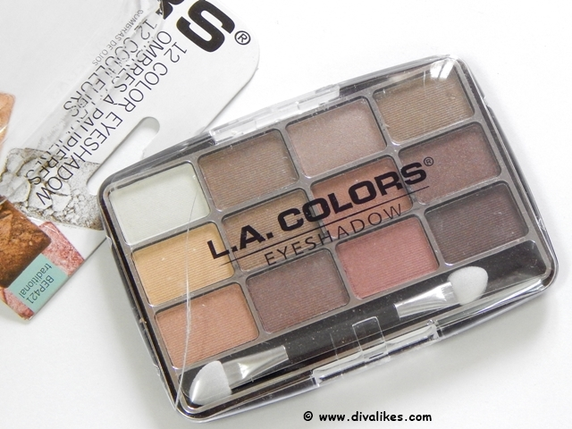 L.A.Colors 12 Color Eyeshadow
