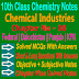 10 Class Chemistry | Chemical Industries Notes
