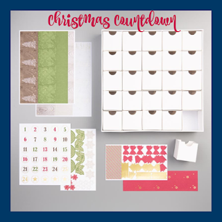 Stampin' Up!'s Christmas Countdown project kit