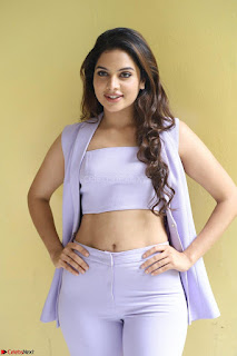 Tanya Hope in Crop top and Trousers Beautiful Pics at her Interview 13 7 2017 ~  Exclusive Celebrities Galleries 014.JPG