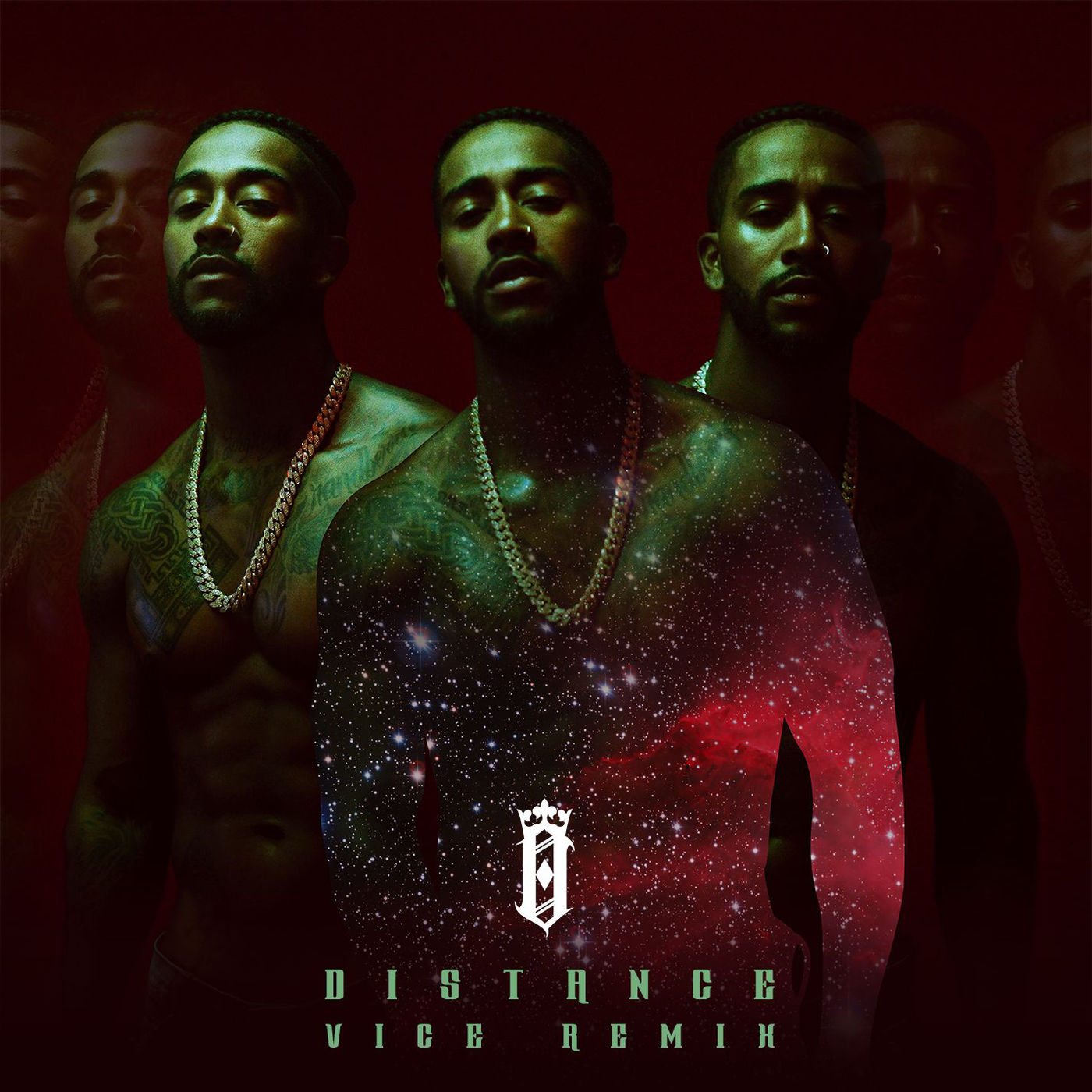 Omarion - Distance (VICE Remix) - Single Cover