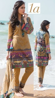 Zarqash Luxury Lawn 2016-2017