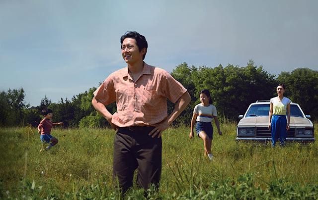 Steven Yeun como Jacob. Fotograma de A24.