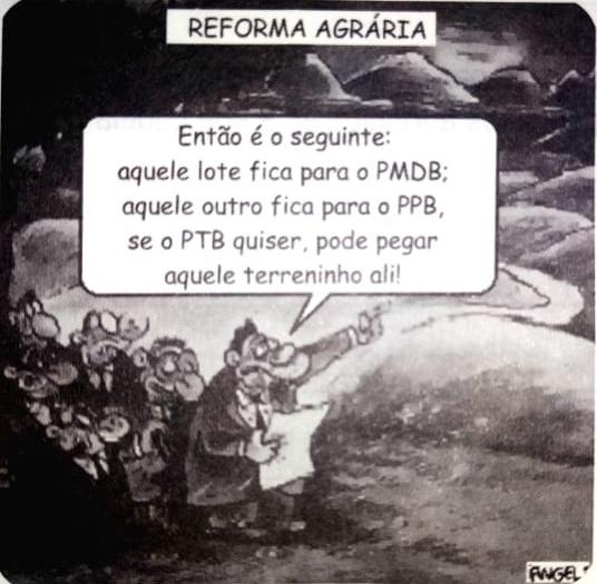 Reforma Agrária - Angeli