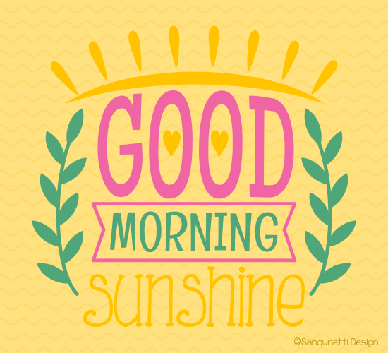 Good Morning Sunshine Download : Downloadecards u good morning ecards for everyone