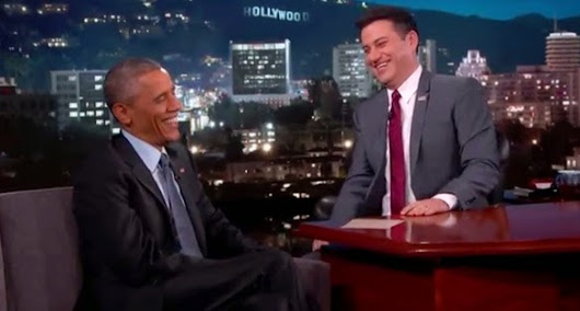 Obama talks Area 51 UFOs and aliens with Jimmy Kimmel