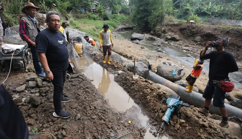 Pemkot Bandung Revitalisasi Seke Cibarani Sungai Cikapundung