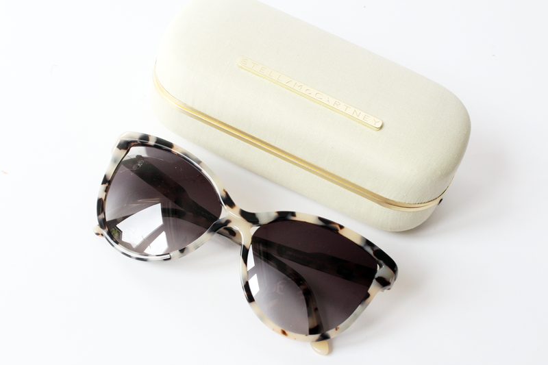 stella mccartney tortoise leopard sunglasses