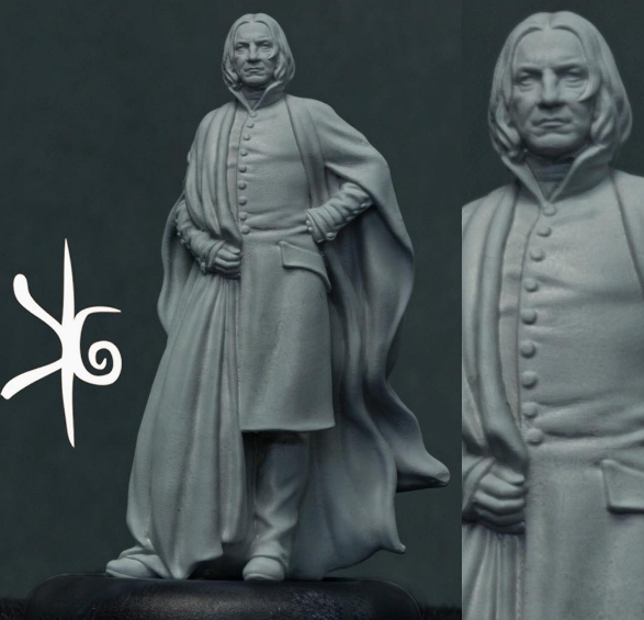 Knight Models: Harry Potter Miniature Game -  Severus Snape Preview