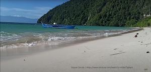 Keindahan Pasir Putih Pantai Mendaan Tanjung Dako Buol - Sulawesi Tengah