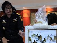 Mencengangkan! Gelontoran Sabu Cina ke Indonesia Hingga 250 Ton
