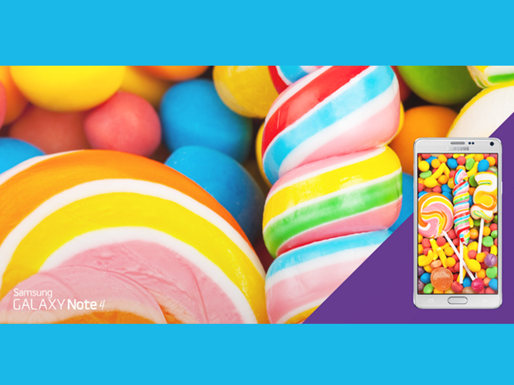 Android 5.0 Lollipop Coming Soon For the Samsung Galaxy Note 4?