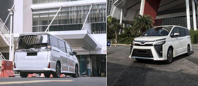 Spesifikasi dan Harga Toyota Voxy 2019 terbaru