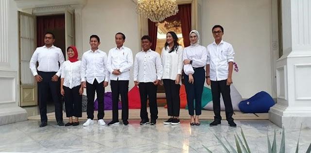 Stafsus Milenial Jadi Jalan Pembuka Untuk Anak Dan Menantu Jokowi Ke Dunia Politik