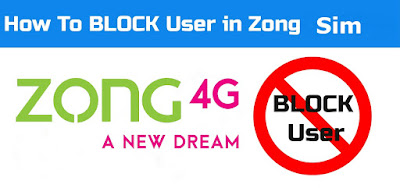How to block number on zong