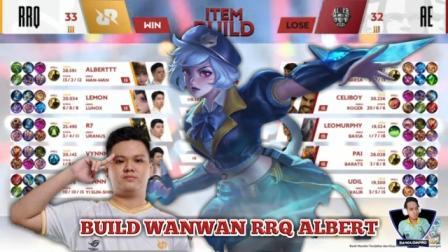 Build Wanwan RRQ Albert Tersakit