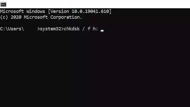 "طرق حل مشكلة (الملف أو الدليل تالف وغير قابل للقراءة) "" The file or directory is corrupted and unreadable "" في الويندوز"