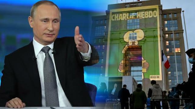 Kecam Kartun Nabi Muhammad di Prancis, Putin: Hina Orang Beragama Akan Ada Balasan
