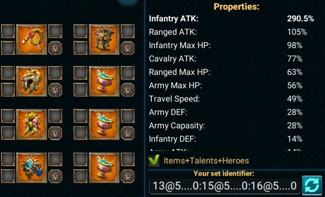 Item Tersaikt Infantry Full Attack