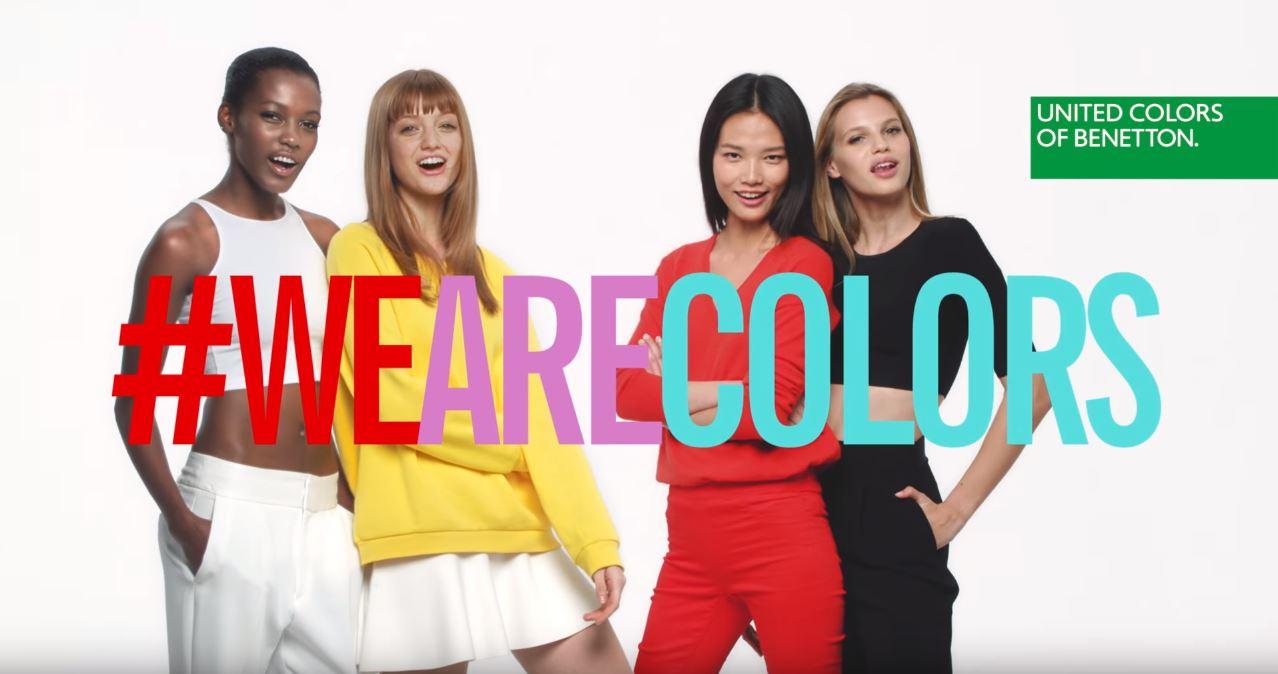 Canzone Benetton profumo Colors Pubblicità