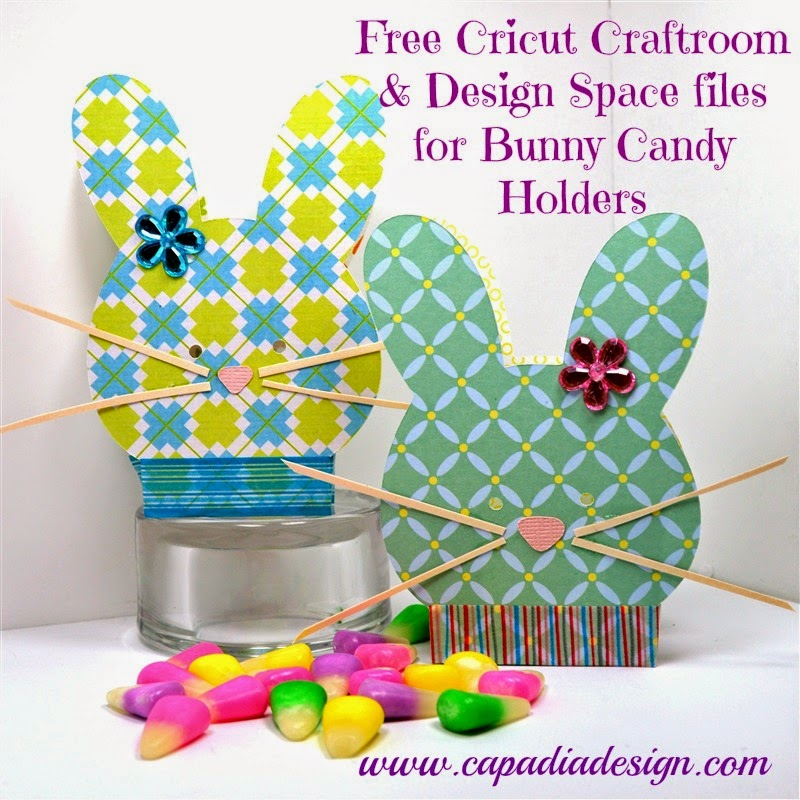 Capadia Designs Free Files For Bunny Candy Favors