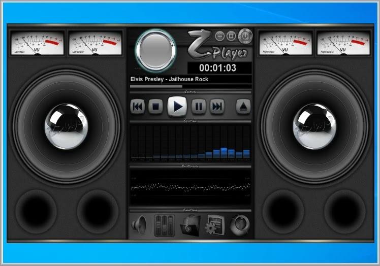ZPlayer :  Μουσικός Player με ιδιαίτερη εμφάνιση