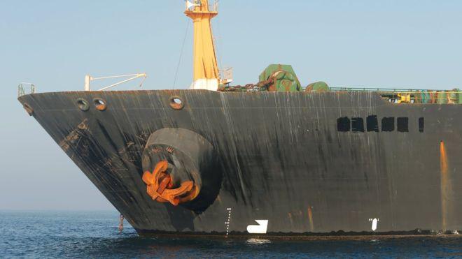 Grâce 1 : Les États-Unis émettent un mandat pour saisir un superpétrolier iranien