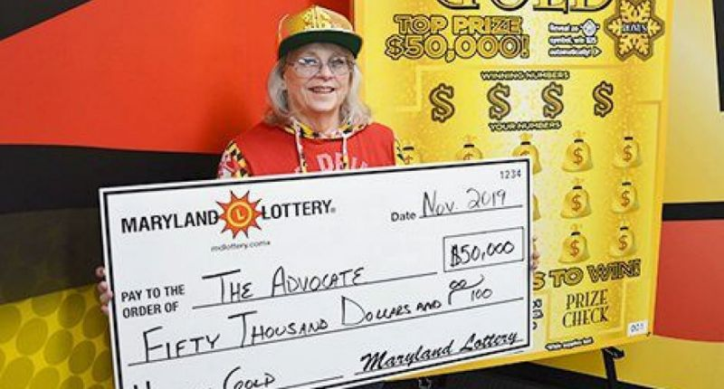 64-year-old woman Woman wins lottery scratchie jackpot twice in two months