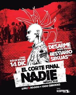Concierto de NADIE + Invitados