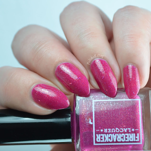 Firecracker Lacquer I Pink I Love You