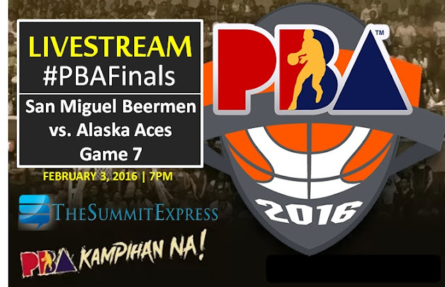 San Miguel vs Alaska Game 7 PBA Finals PH Cup 2016
