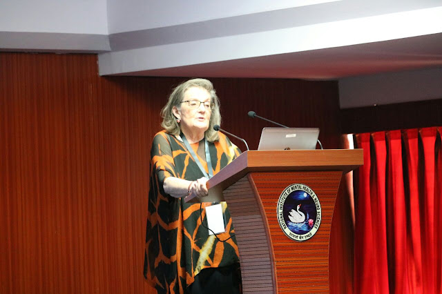 Dr. Randi Hagerman, MD, Medical Director,UC Davis MIND Institute, USA, speaking at Indo-US Medical Symposium on Fragile X and Autism Spec