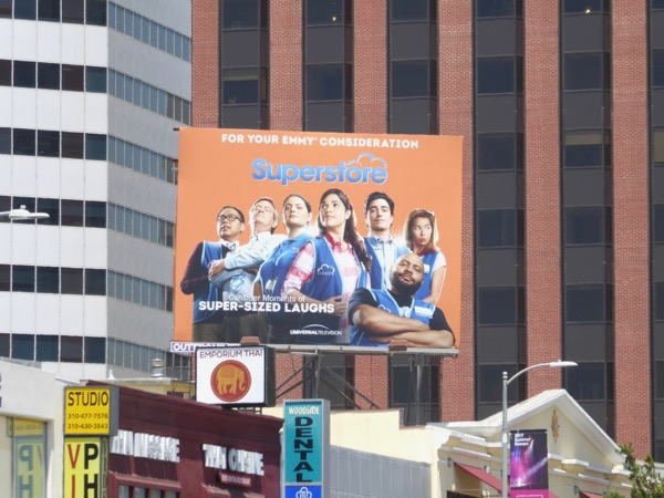 Superstore season 2 Emmy FYC billboard