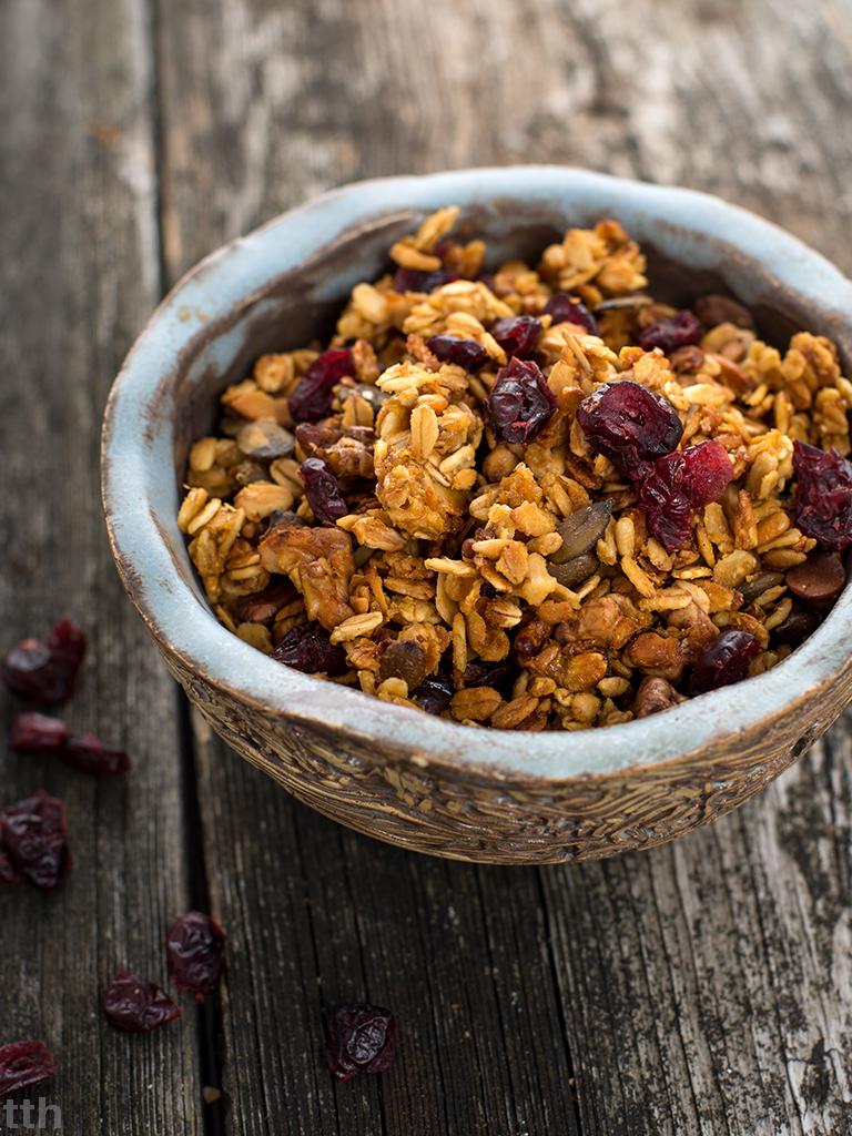 granola wegańska przepis bezglutenu