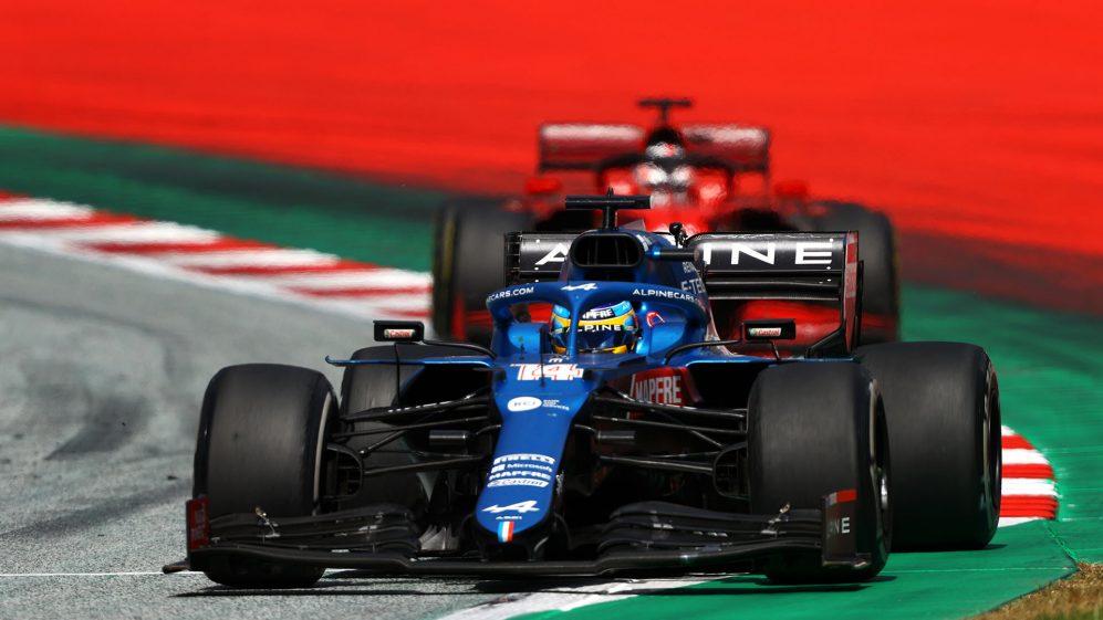 Alonso ficou satisfeito em ganhar pontos do Red Bull Ring com a Alpine, que não estava entre os 10 melhores