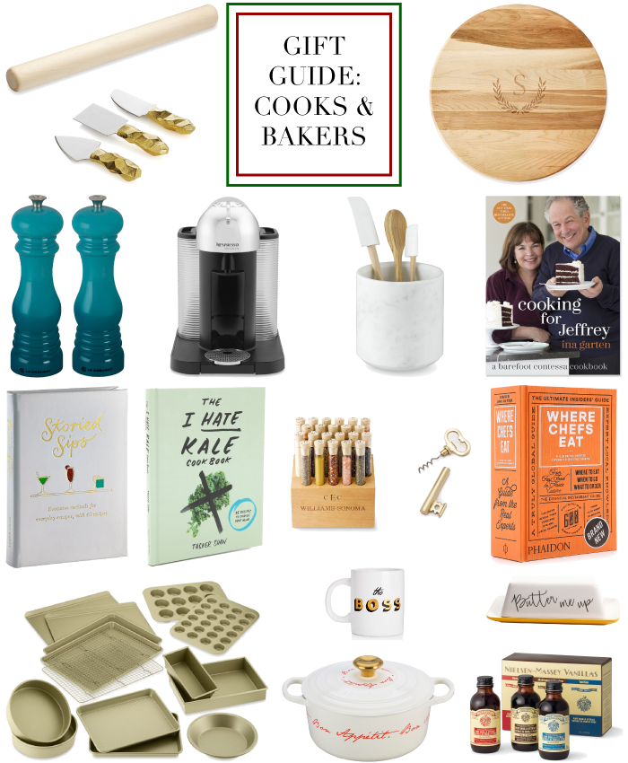 christmas holidays wish list gift guide for cook chefs bakers kitchen hostess host
