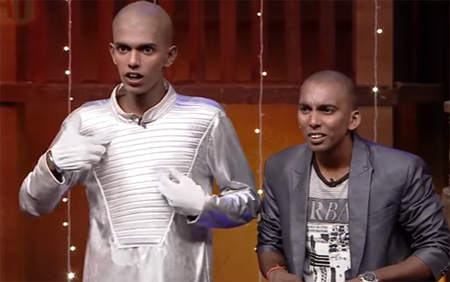 Bala and Sarath's performance