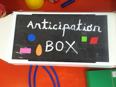 anticipation box eyfs literacy and maths activity