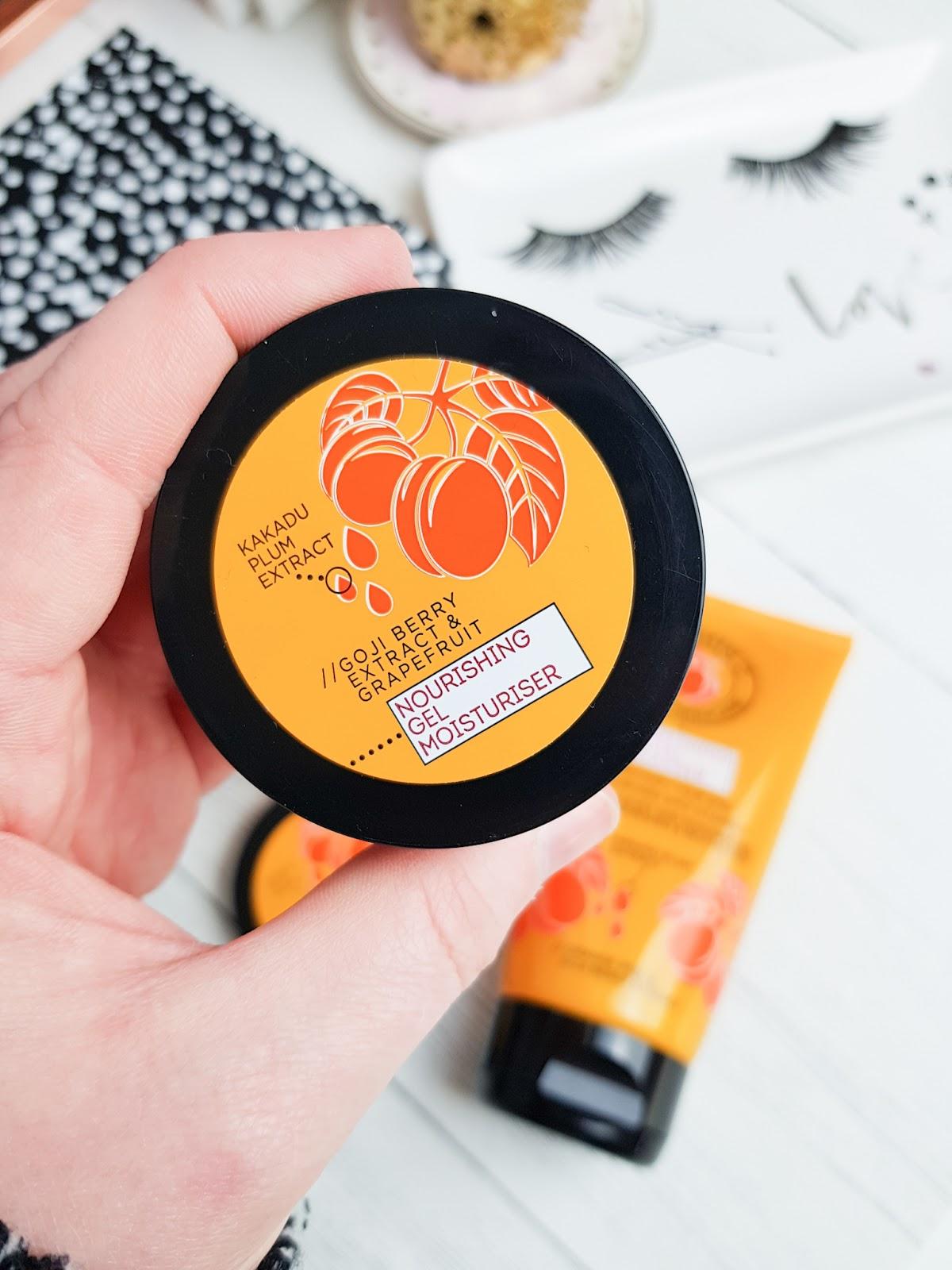 Superdrug Vitamin C Skincare NEW Range Gel Moisturiser