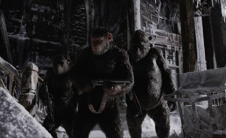 """Trailer de """"Planeta dos Macacos: A Guerra"""" é formidável"""
