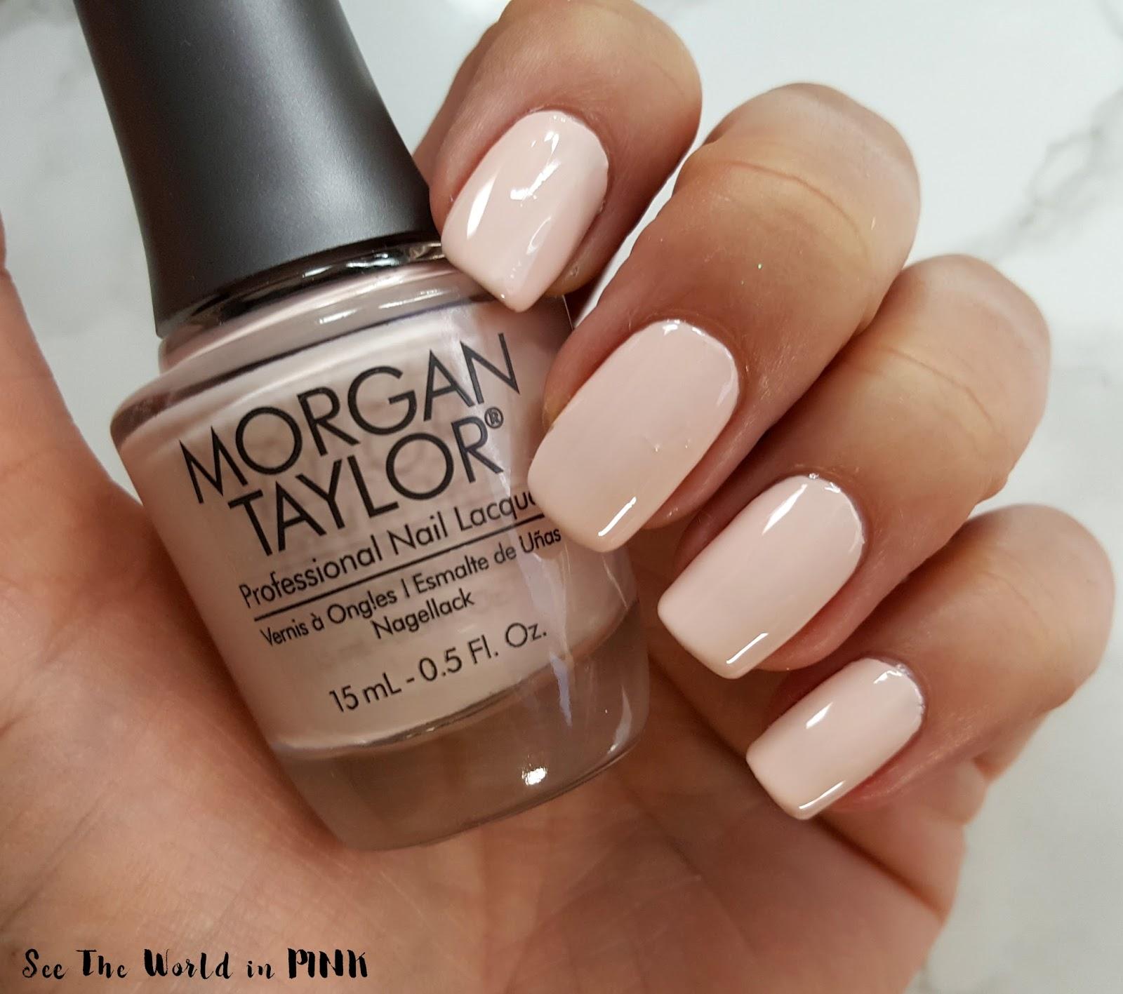 Morgan Taylor Royal Temptations collection Curls & Pearls