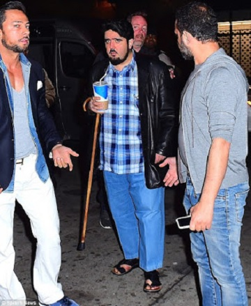 Billionaire Saudi Prince Dresses Casual In Order To Sneak Into A Popular Club In New York