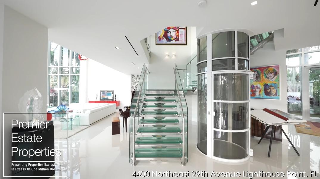 66 Interior Photos vs. Tour 4400 NE 29th Ave, Lighthouse Point, FL Luxury Contemporary House