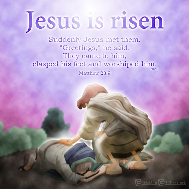 Word of God: Jesus is risen