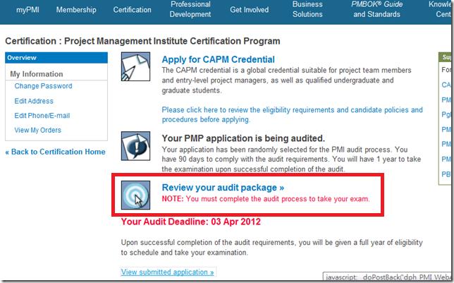 PMP & ACP 專案管理學院: 【PMP專案管理】如何完成Audit程序?(2017/7月調整Audit流程)
