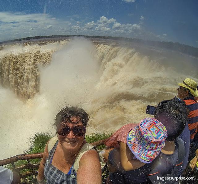 Garganta do Diabo, no lado argentino das Cataratas