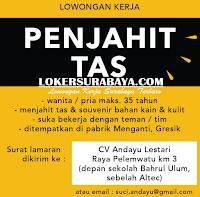 Lowongan Kerja Surabaya di CV. Andayu Lestari Juni 2020