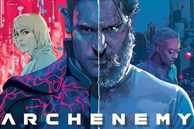 ARCHENEMY: Locura, realidad, ciencia ficción en un Rey Pescador postmilenial.