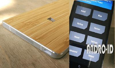 Cara Instal CWM Recovery Xiaomi Mi Note Bamboo MIUI 9